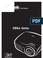 Vivitek Projector Manual 6481