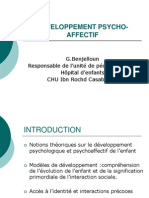 DEVELOPPEMENT PSYCHOLOGIQUE