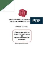 Plan Estrategico Formacion Escolar PETE