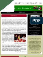 Boletin Enero Ecuador