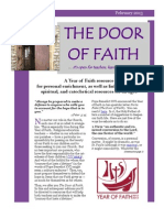 The Door of Faith - February 2013