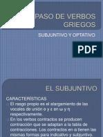 SUBJUNTIVO Y OPTATIVO.pptx