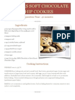 Hoover's Chocolate Chip Cookies