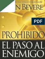 John Bevere - Prohibido El Paso Al Enemigo