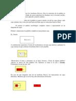 análisis morfológico en cajas