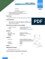 Cajas Cuadradas SB1FD