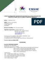 Programma Corso Di Formazione -Diagnosi Ed Assistenza Sulle Malattie Rare