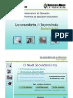 Presentacion Escuela Sec Und Aria de La Provincia Bs As