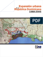 Expansion Urbana en la Republica dominicana
