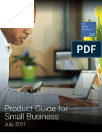 Small Bussines Product Guide July 2011 Edition
