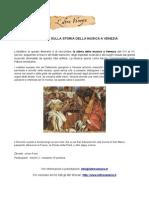 Itinerario sulla Storia della Musica a Venezia