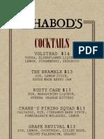 Ichabod's Drinks