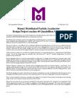 Muon1 40 Quadrillion PTS Press Release