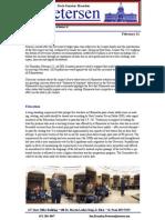 Petersen Newsletter Feb 21