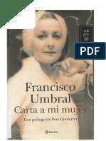 90618278 Umbral Francisco Carta a Mi Mujer