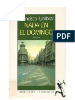 75987783 Umbral Francisco Nada en El Domingo