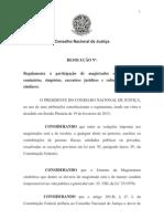 resolucão CNJ Patrocínio