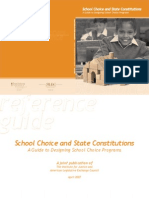 School Choice and State Constitutions