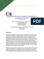 Angustia neurótica, angustia existencial e inquietud cristiana - Mario Caponnetto.docx