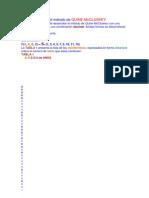 Minimización por el método de QUINE