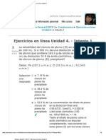 Quimica General II 2013-1_ Ejercicios en línea Unidad 4