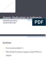Islamic Radicalism in Indonesia