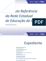 Currículo Referência da Rede Estadual de Educação de Goiás