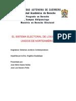 Sistema Juridico Electoral de Eua