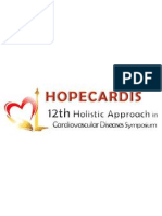 Tentative Scientific Program Hopecardis 2013