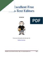 20 Excellent Free Rich-Text Editors