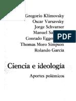 Ciencia e Ideología - Aportes polémicos