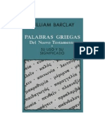Griego William Barclay