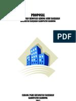Proposal PGRI Gedung Banjaran