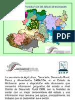 Datos Fisiogeograficos Estado de Michoacan