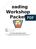 2013 - Readers Workshop Packet
