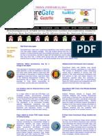 Friday - February 22, 2013 - ForeclosureGate Gazette