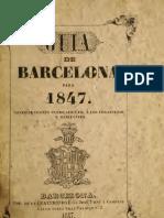 Guia Barcelona 1847