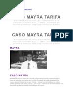 San La Muerte Caso Mayra Tarifa