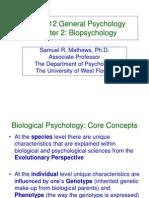 2A. Biopsychology