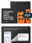 Small Business Growth Webinar - Slides