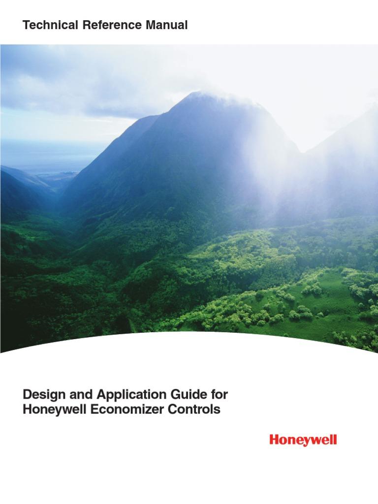 Honeywell Economizers Ventilation Architecture Hvac Economizer Wiring Diagram