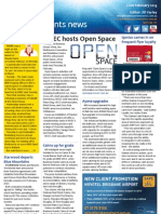 Business Events News for Fri 22 Feb 2013 - MCEC hosts Open Space, Qantas cashes in on FF loyalty, Parker joins Dockside, eCruising expands into MICE and much more