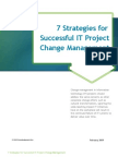 7 Strategies for Successful IT Change Management