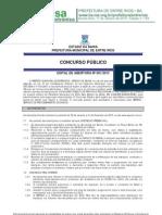 Edital Concurso Entre Rios