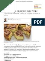 Cinnamon Buns Recipe _ Dan Lepard _ Life and Style _ the Guardian