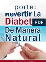 Reporte Revertir La Diabetes de Manera Natural | Descargar Gratis Revertir La Diabetes Pdf