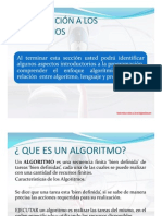 Seccion1 - Introducción a los Algoritmos