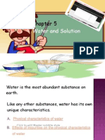 Chapter 5_Water and Solutions