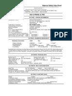 ab cutrine ultra algicide msds