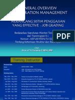 13 Job Grading Overview